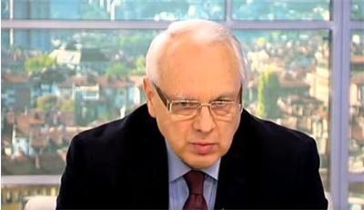 Велизар Енчев: Борисов се върна заради ниската политическа култура на българския народ