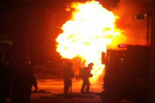 Пожар в цех за месо във Войводиново