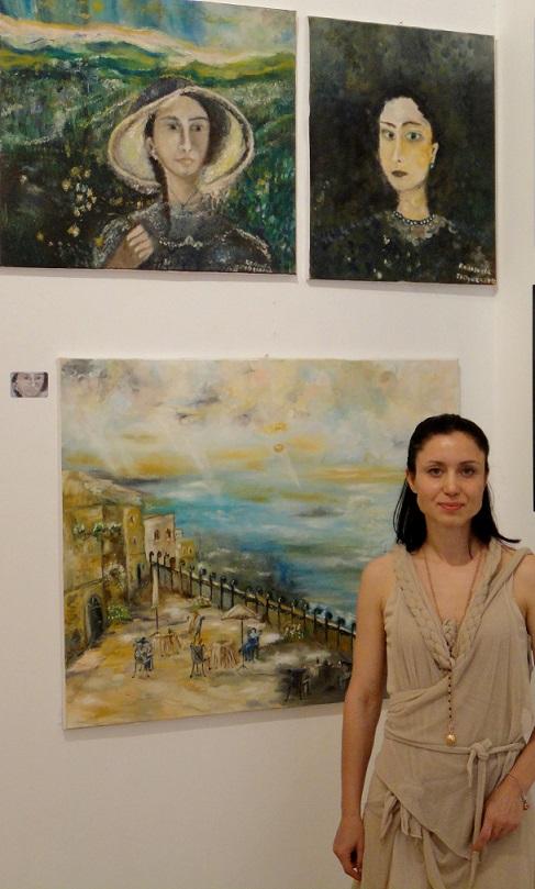 Българската художничка Радосвета Желязкова с картини в Рим