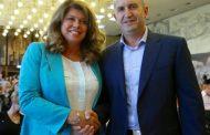 Фейсбук коментира: Имаме си президентската двойка – Тодор Живков с Мис Пиги