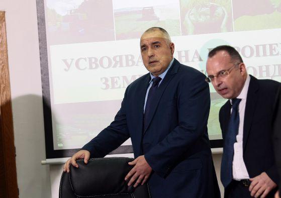 Борисов показа, че е капо' на задкулисието с оставката на Порожанов.