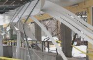 Поредният паднал таван! Този път на гарата в Търговище!