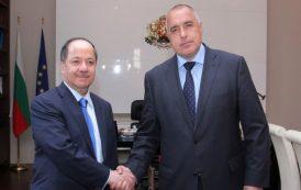 Бойко Борисов се е срещнал с президента на Кюрдистан