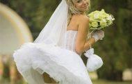 В Русия булка наби младоженеца със сватбения букет и избяга от сватбата – Видео