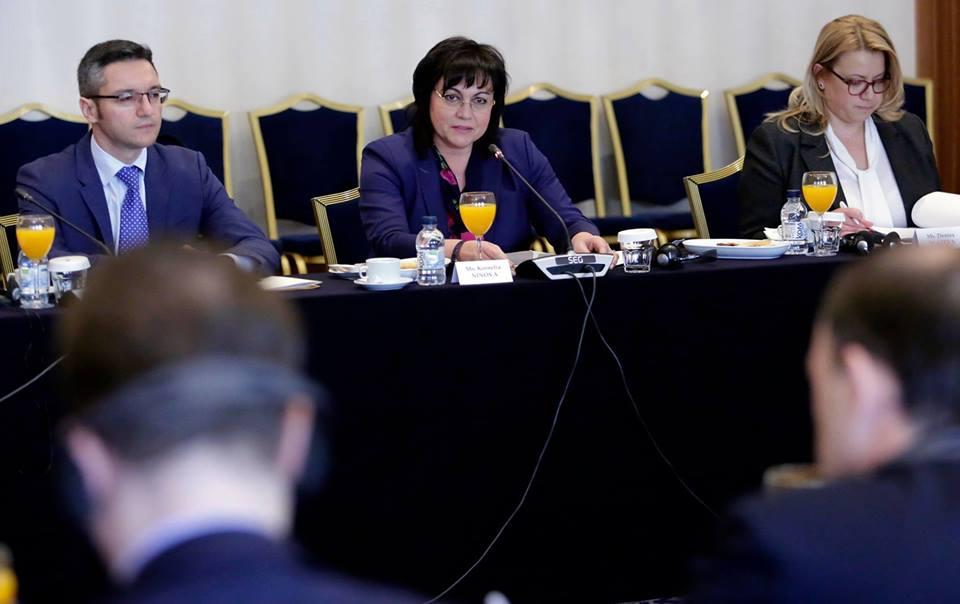 Работна среща с посланиците на страните – членки на Европейския съюз