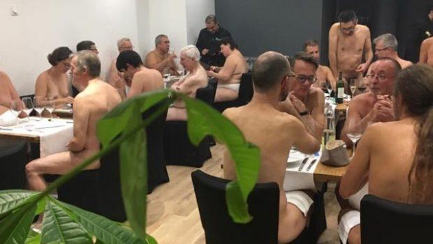 Отвориха ресторант във Франция за нудисти