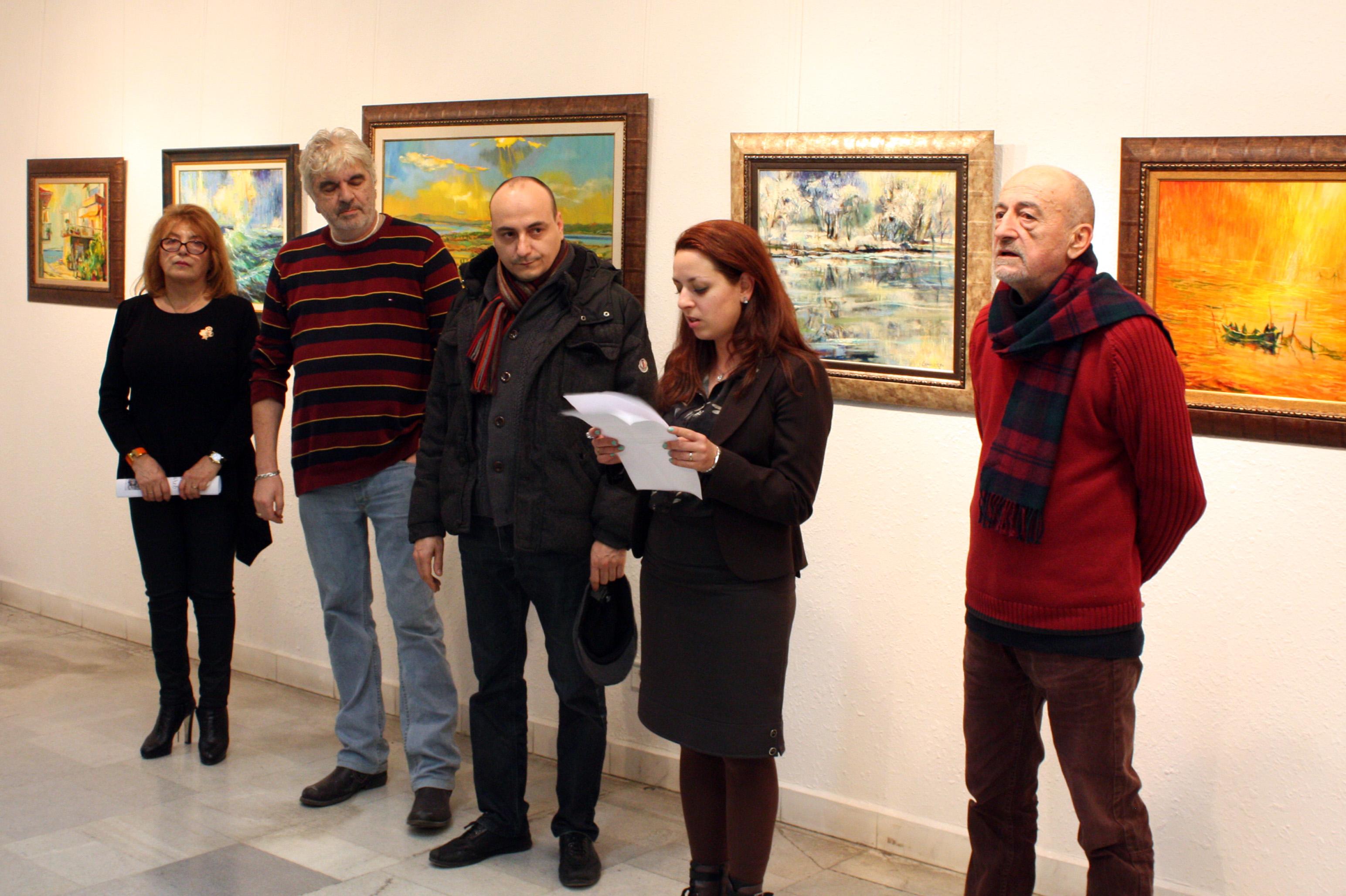 Симеон Халачев показва поразителна колекция от избрани живописни творби в  пространството на TERRA SPA