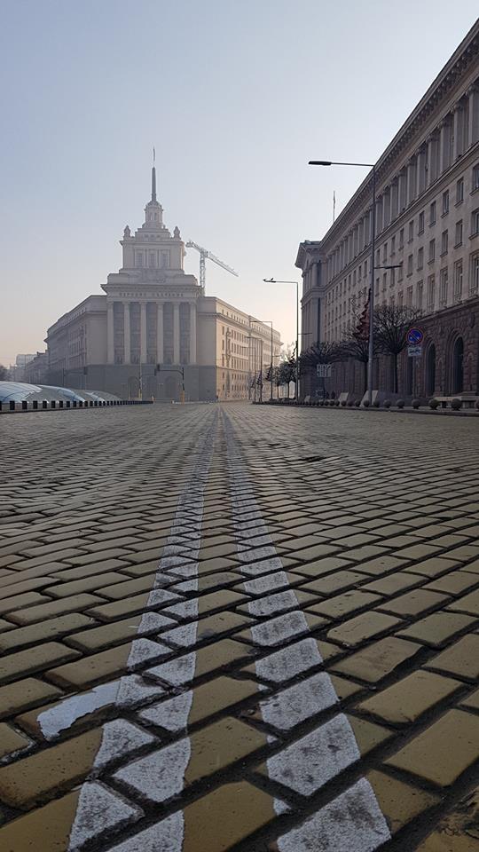 Фотограф засне София на 01.01.2018