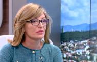 Екатерина Захариева относно сблъсъка Радев-Борисов: Надявам се…