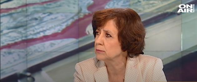 Ренета Инджова: Властта и комисията по хазарта са едно! Чадърът се сви, за да се промени лицето, което ще смени Божков.