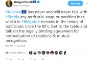 Прищина никога няма да преговаря с Белград за размяна на земи