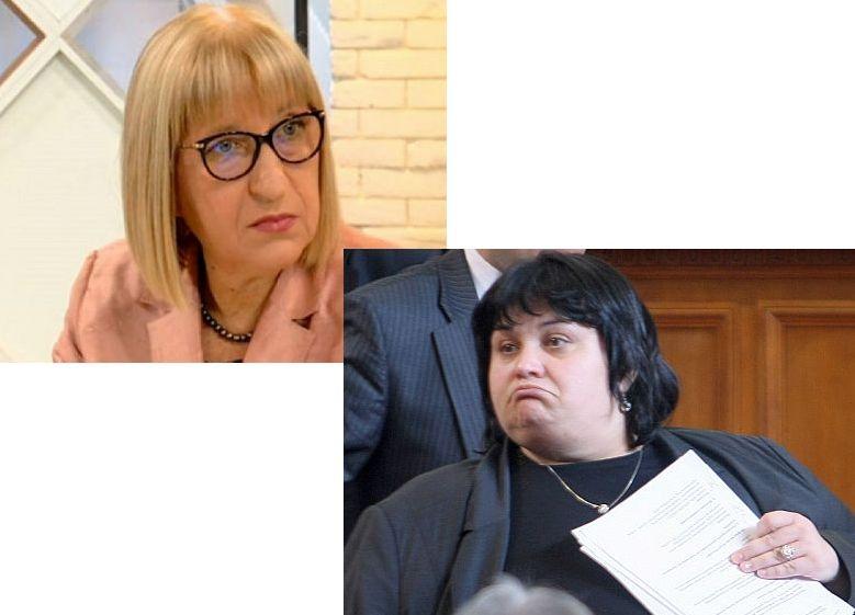 ПОТРЕС! Дори Фидосова би се възмутила от наглостта на правосъдния министър Цецка Цачева