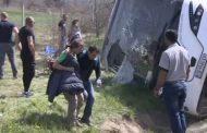 Над 20 души са пострадали, 11 линейки са на мястото на инцидента (Снимки)