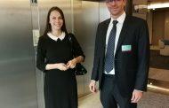 Евродепутатът Ева Майдел (ГЕРБ/ЕНП) се срещна с вицепрезидента на Фейсбук Адам Мосери