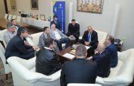 Премиерът Бойко Борисов подкрепя протеста на транспортните фирми.