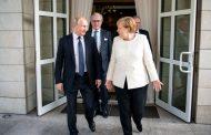 Меркел на килимчето при Путин.