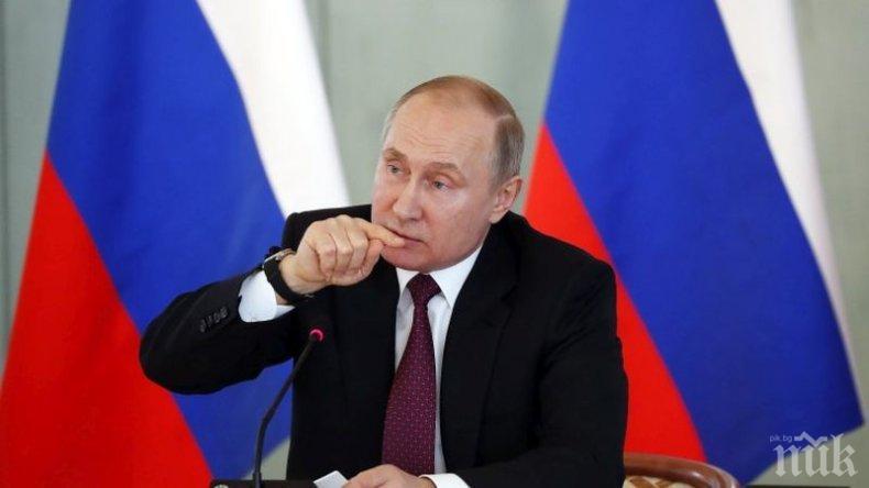 Путин: Русия ще продължи напред с модернизацията на армията си
