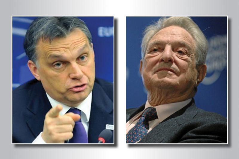 Орбан изгони Сорос от Унгария