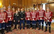 Днес по случай Деня на храбростта и празника на Българските въоръжени сили свириха гвардейският бенд