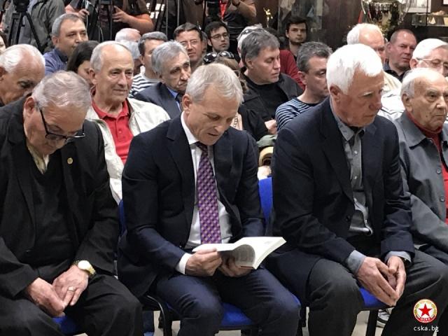 ЦСКА е жив благодарение на Гриша Ганчев