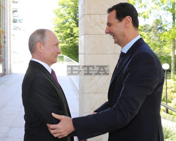 Путин проведе работна среща с Асад в Сочи