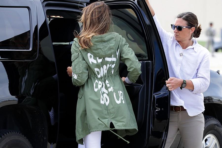 Мелания Тръмп във вихъра на нов скандал.