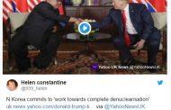Езикът на тялото издаде емоциите на Доналд Тръмп и Ким Чен-ун (СНИМКИ)