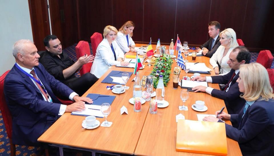 Ивайло Московски: С министъра на транспорта на Гърция проведохме среща в Солун, на която обсъдихме засилване на четиристранното сътрудничество за подобряване на транспортната свързаност в региона