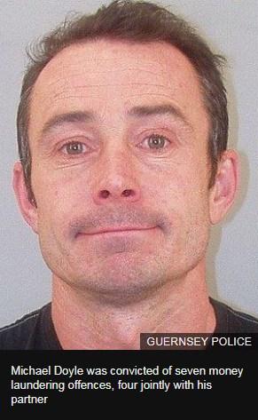 BBC News: Двойка мъж и жена, Майкъл Дойл и Белинда Ланион от британския остров Сарк са били осъдениза пране на пари