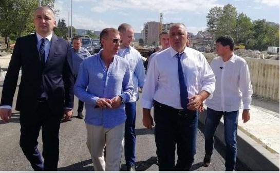 Борисов инспектира най-големия инфраструктурен проект във Варна