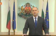 Президентът Румен Радев отправи призив за национално единение по БНТ
