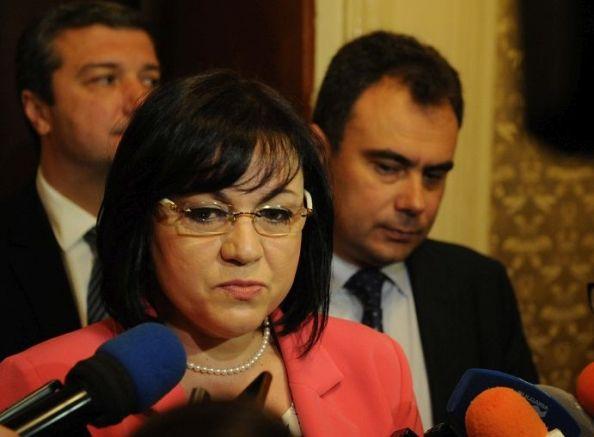 Нинова обвини Борисов, че си подсигурява спокойствие за шест милиарда.