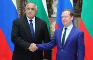 Борисов и Медведев доволни един от друг.