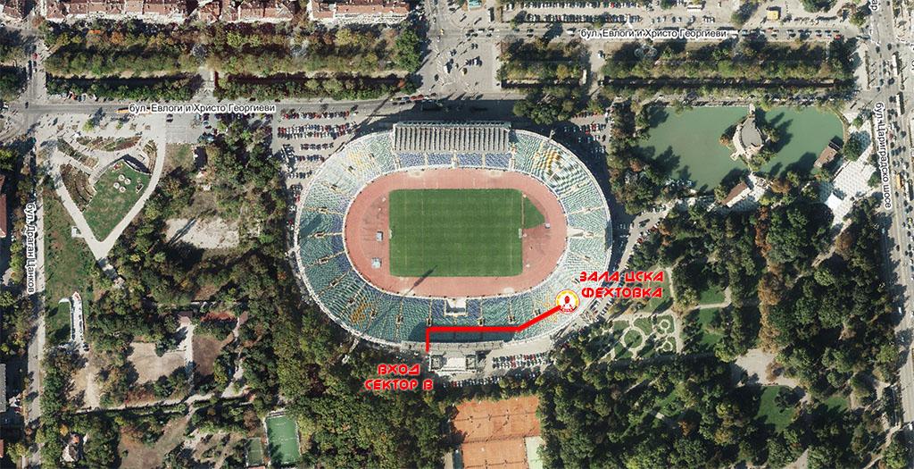 """Събарянето на националния стадион """"Васил Левски"""", намиращ се на най-хубавото място в София, е престъпление, Борисов."""