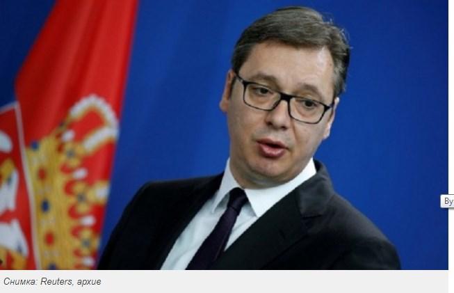 Вучич призна, че за всичко се съветва с Путин.