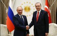 Ердоган в сряда е на официална визита в Москва при Путин