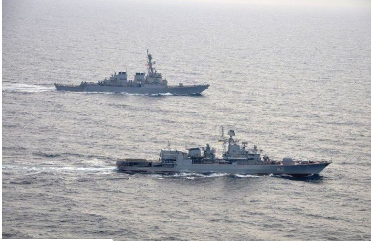 Напрежението ескалира! САЩ с военен кораб в Черно море.