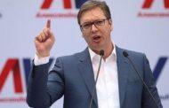 Президентът на Сърбия Вучич обвини САЩ, Великобритания и Германия за косовската армия.