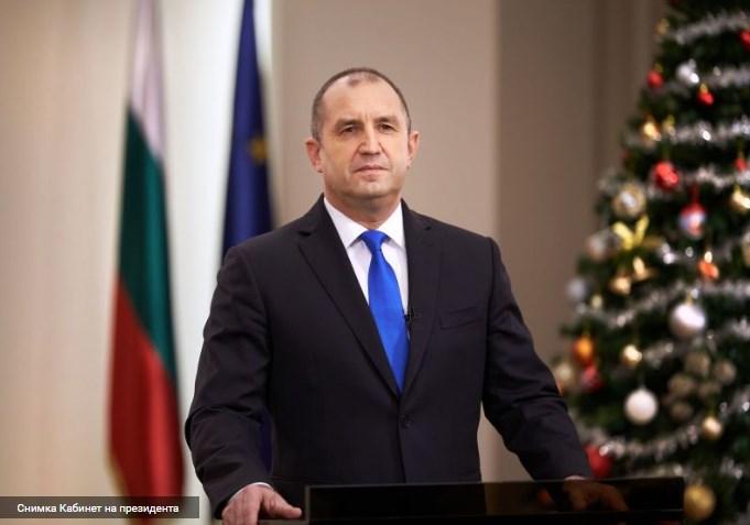 Президентът Радев: Да върнем България по пътя на демокрацията и справедливостта.