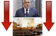 Спада персоналното одобрение към Борисов и правителството.