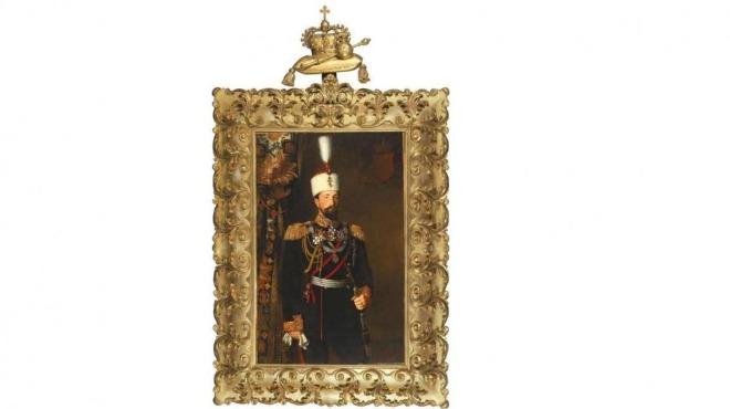 Продават уникален портрет на Батенберг и дарове от коронацията му на търг във Виена