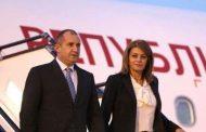 Румен Радев и съпругата му пристигнаха на посещение в Швейцария