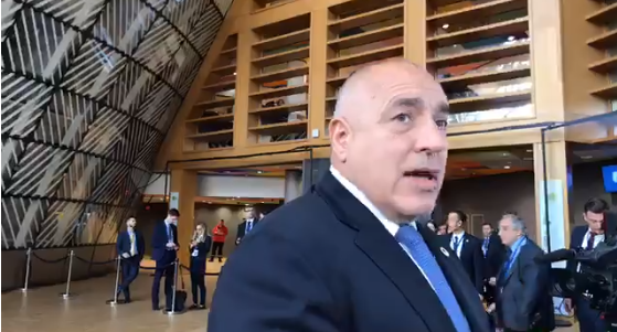 Борисов от Брюксел към Нинова: Аз ли ти написах оставката и подписа! Какво общо имам с нея, бе, човек!