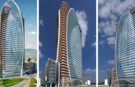 """И днес протест срещу небостъргача """"Златен век""""."""