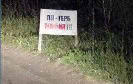 """Рекламни табели на """"ГЕРБ"""" красят пътя за Кубрат"""