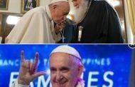 Аз съм в недоумение! 1. Целува православния кръст. Поправка