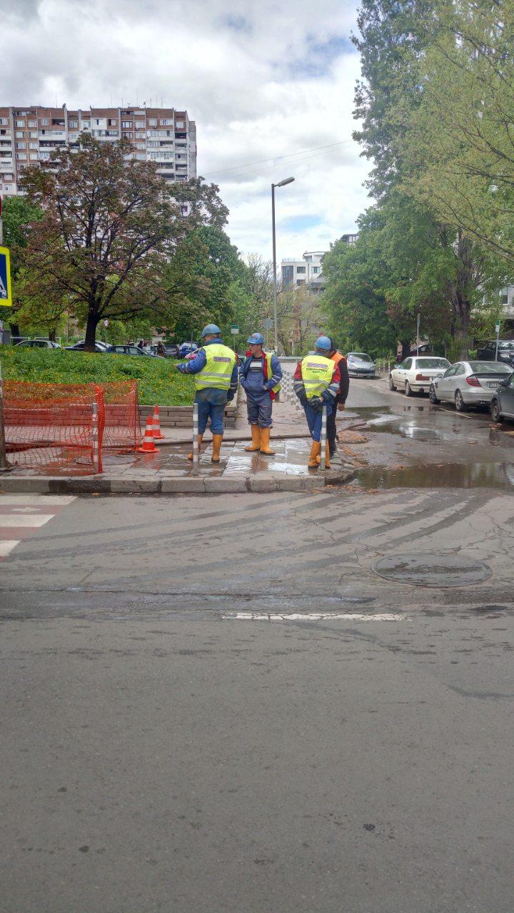 """Софийска вода"" остави цял квартал, без да може да се изкъпе или сготви за празника!"