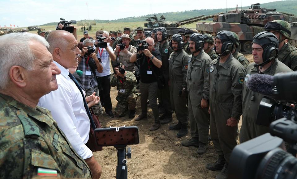 """Премиерът Борисов за базата в """"Ново село"""": Вижте какво прекрасно съоръжение е!"""
