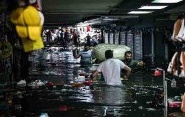 'Капалъ чарши' в Истанбул е под вода