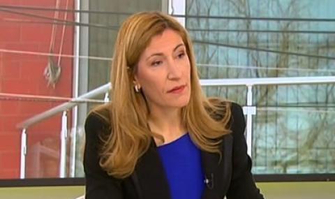 Ангелкова е поискала и туризма да ползва грантови схеми за следващия програмен период.